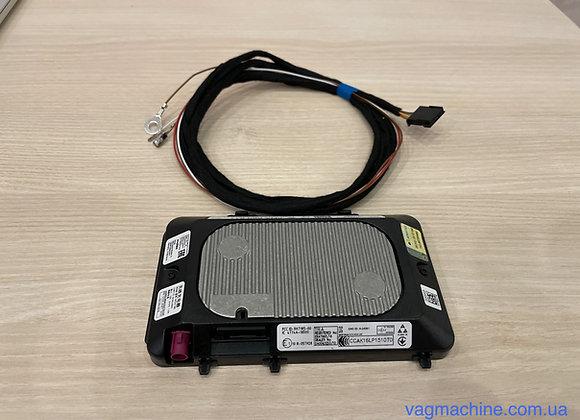 Комплект беспроводной зарядки QI для VW Golf 7/Tiguan 2/Passat B8/T-Roc/Polo 2G.
