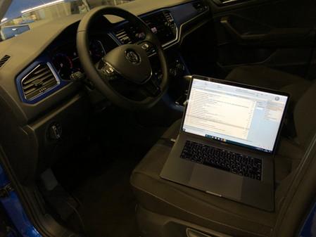 Активация скрытых функций. VW T-Roc Style 1.5TSI DSG7 2019.