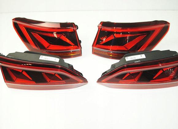 Задние LED-фонари с динамическим повторителем поворота для VW Touareg III CR.