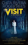 Chita Rivera Roger Rees The Visit poster