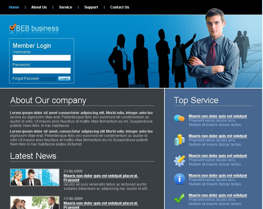 Free business website templates free website templates for free.