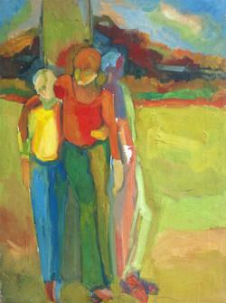 GN-Adolescents-autour-d-un-arbre-B-1982