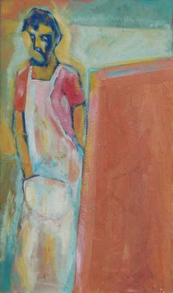 6-Autoportrait_au_chevalet_1983_38x64,5_Huile-Toile.jpg