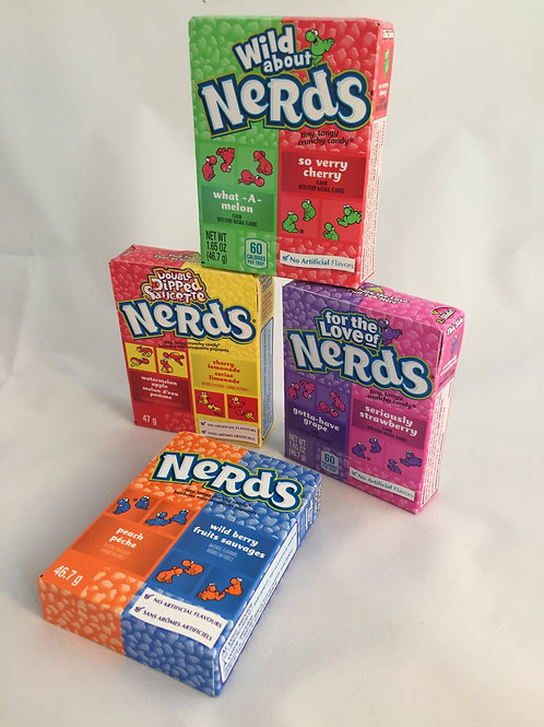 Nerds (6 flavours available)