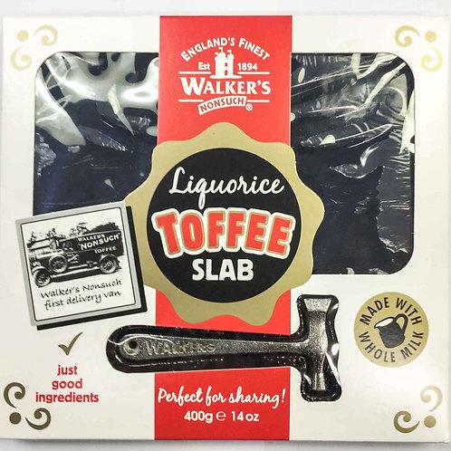 Liquorice Toffee slab (large)