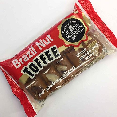 Brazil Nut Toffee Slab