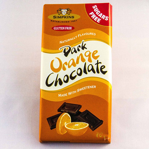 Dark Chocolate with Orange