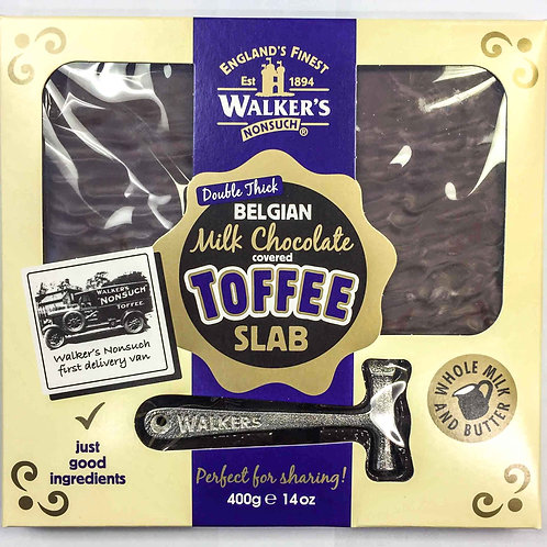 Belgian Chocolate covered Toffee slab (large)