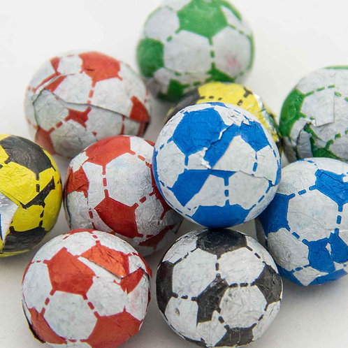 Chocolate Flavoured Footballs