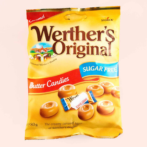 Werthers Butter Candies (sugarfree)