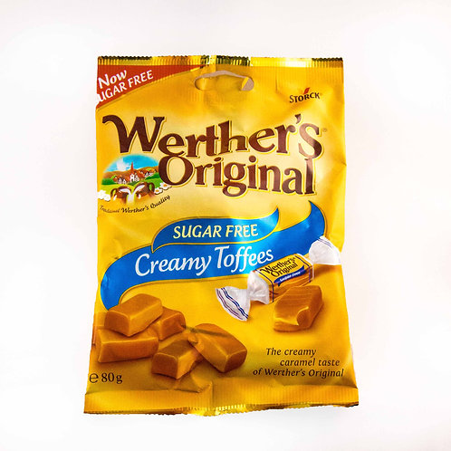 Werthers Creamy Toffees (sugarfree)