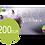 Thumbnail: Gutschein - Hochwertig gedruckte Klapp-Karte mit Perlmutschimmer
