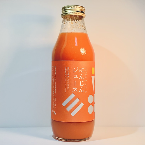 自然栽培 人参ジュース (500ml)