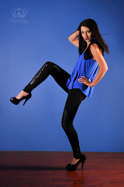 Fashion_model_on_blue_backdrop_for_Ancho