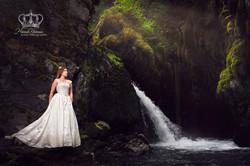 Miss_Alaska_Malie_Delgado_KGOT_radio_at_Girdwood_Virgin_waterfall_by_Anchorage_Alaska_Eagle_River_Al