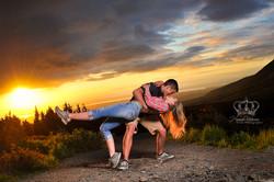 Romantic_engagement_photo_outdoors_sunset_dip_Anchorage_Alaska_Eagle_River_Alaska_portrait_photograp