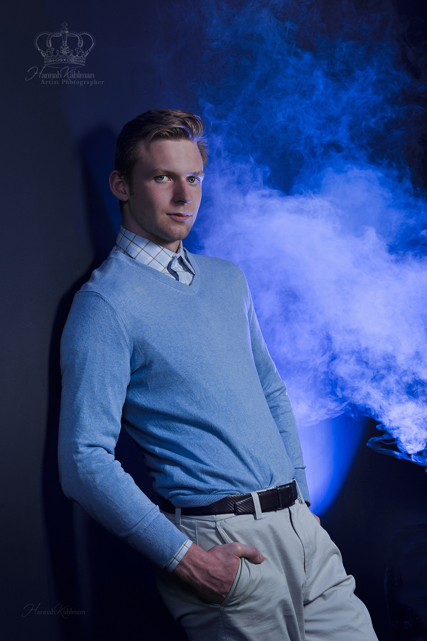 Creative_male_hs_senior_photo_ith_smoke_