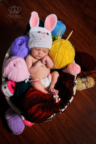 fine art creative newborn photographer A