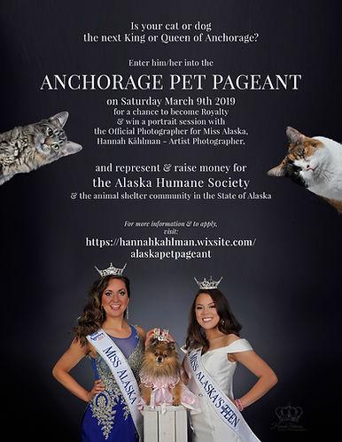 Anchorage Pet Pageant 2019 raising awarn