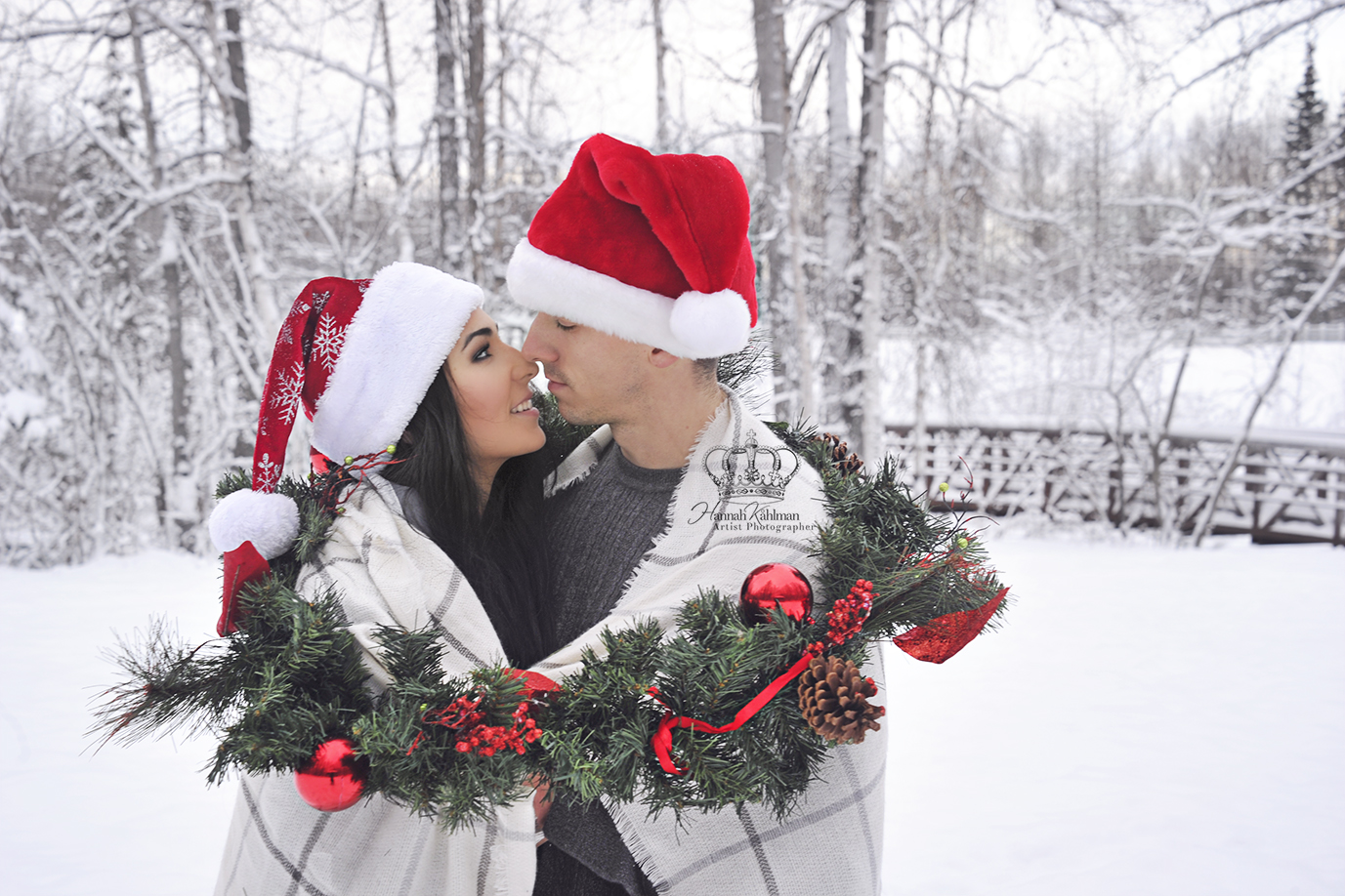 Romantic_snow_portrait_of_couple_outdoors_Eagle_River_Alaska_Anchorage_Alaska_engagement_photographe