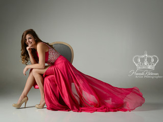 Pageant, Prom & HS Senior portraits - all in one fun session (Studio + Point Waronzof)