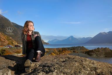 girl_senior_South_Anchorage_High_School_