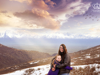 Mother's Day Photo session at Hatcher's Pass