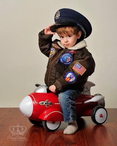 Military appreciation child photo Anchor