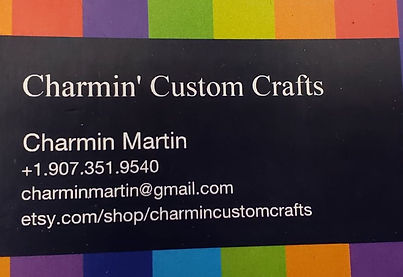 Charmin Custom Crafts logo Anchorage Pet