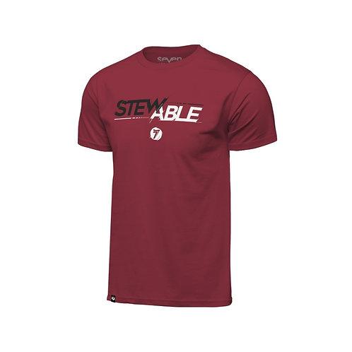 STEWABLE TEE  red