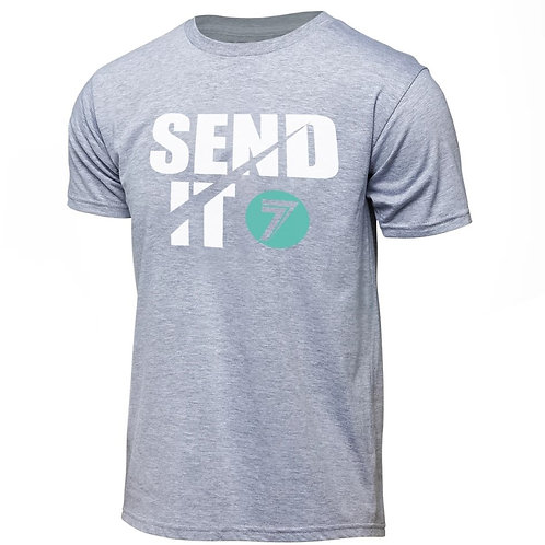 SEND IT TEE grey  JP在庫