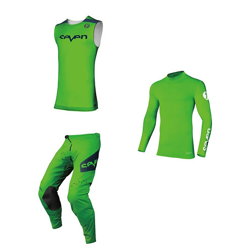 ZERO raptor flo green ウェアセット