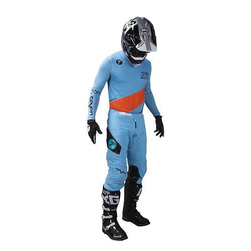 ジュニアセールプライス ZERO DELTA blue ウェアセット
