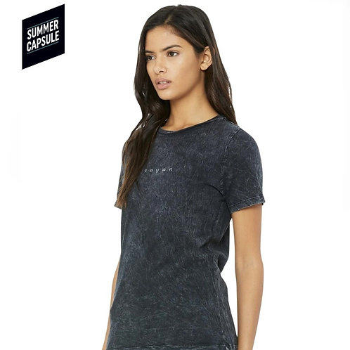WOMEN LIMIT TEE Mineral black JP