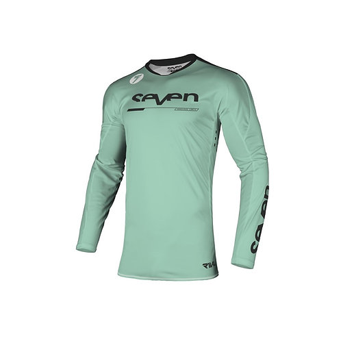 RIVAL  Rampart  jersey  black mint