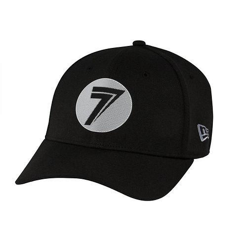 DOT STRETCH FIT HAT black     ¥4,000税抜