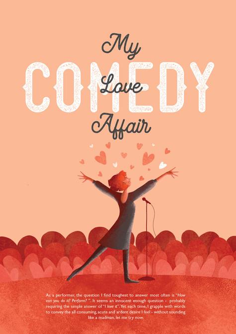 Comedy, My Love Affair