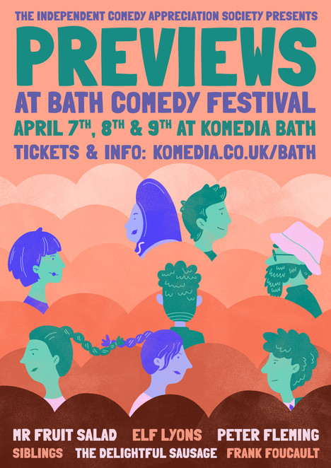 Previews At Bath Comedy Festival