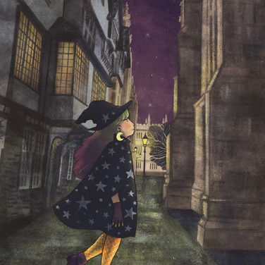 A modern witch in Oxford
