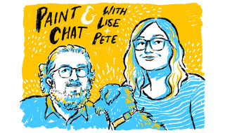 Paint and Chat - video title screen