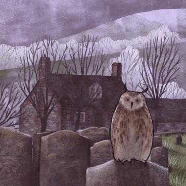 Graveyard owl