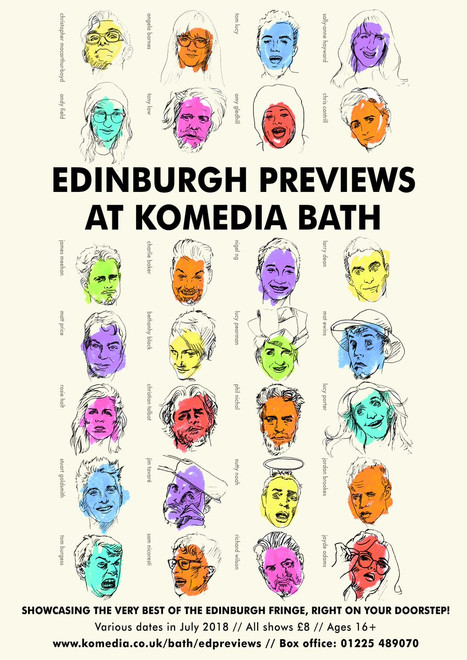 Edinburgh Previews At Komedia Bath