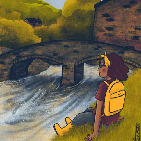 River backpacker