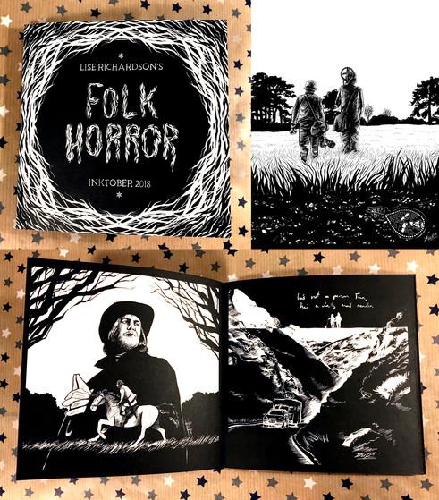 Folk Horror Inktober 2018