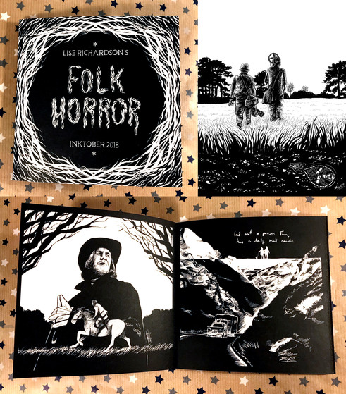 Folk Horror Inktober 2018