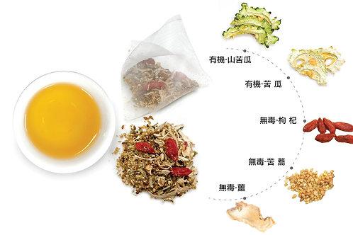 白玉舒活茶