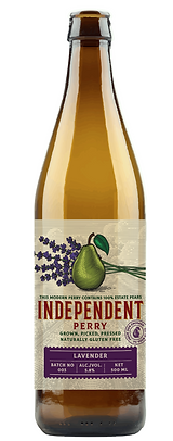 Lavender Perry Bottle Independent Perry.