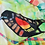 """Thumbnail: Silk Scarf """"Red-Winged Backbird"""