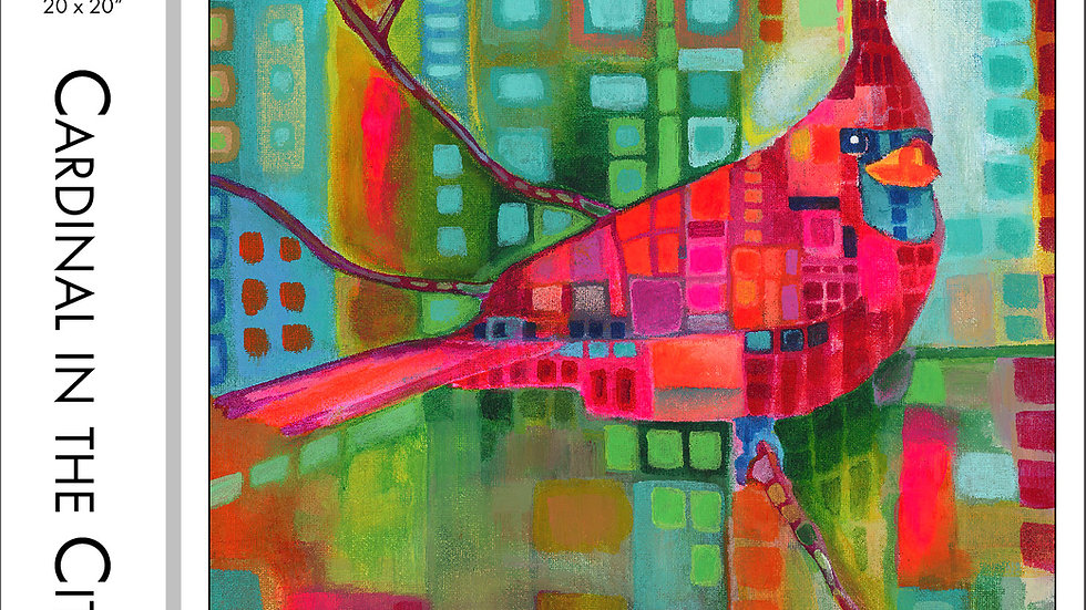 Cardinal in the City Puzzle