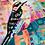 "Thumbnail: Silk Scarf ""Woodpecker"""
